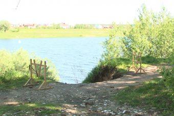 В Твери продолжается обрушение Мигаловской набережной