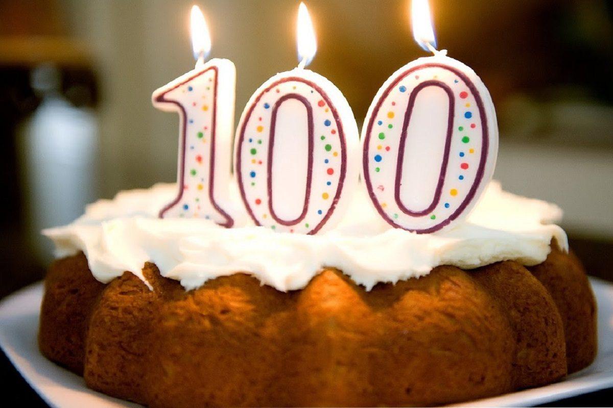 Картинка с днем рождения 100 лет