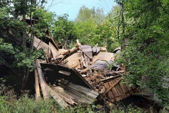 Никольский храм разрушен