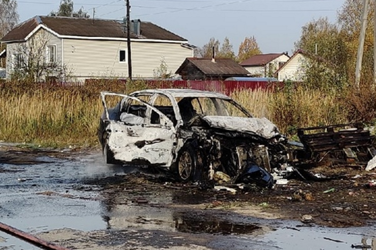 Инцидент произошёл утром 11 октября на улице Парковая.