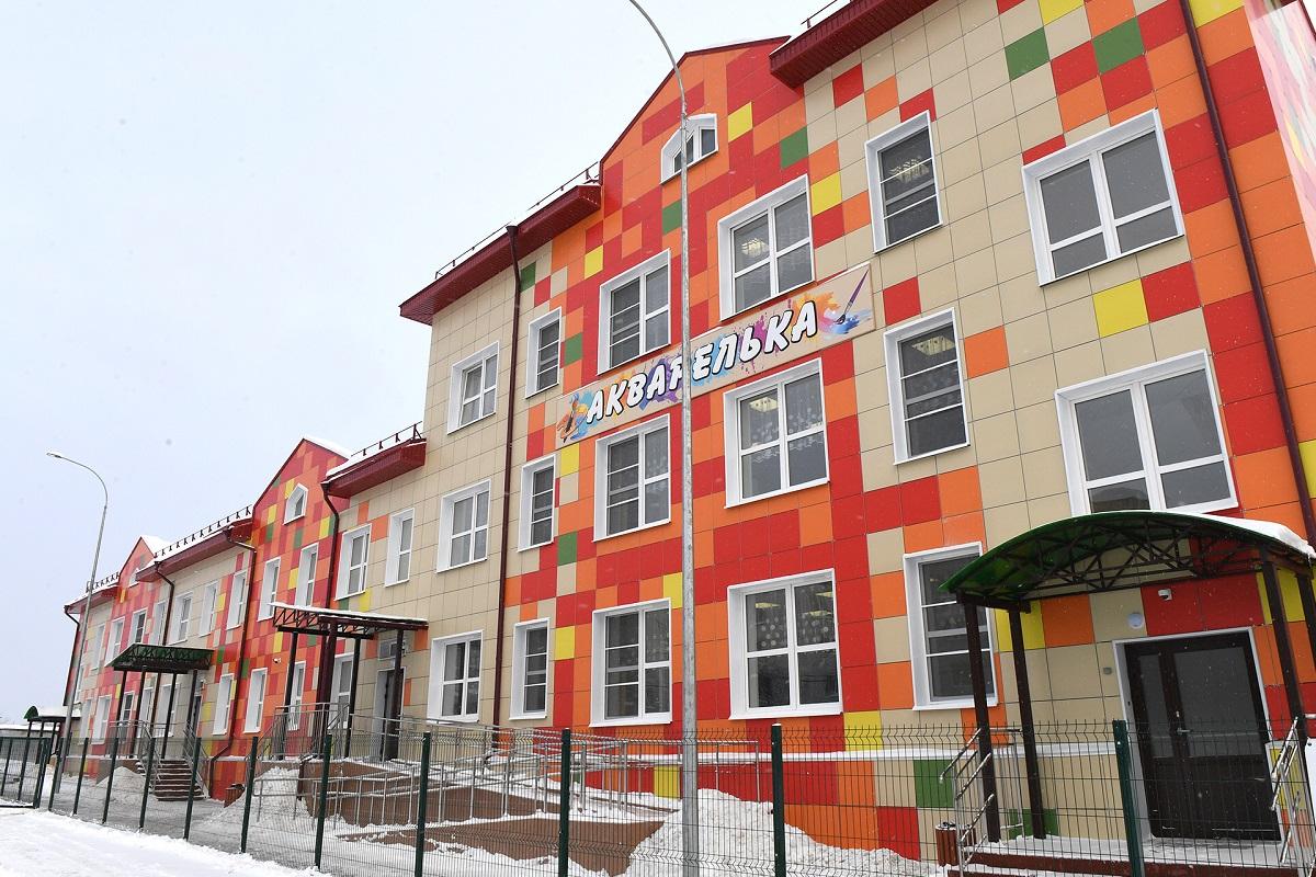За пять лет в Тверской области открыты 11 детских садов и две школы