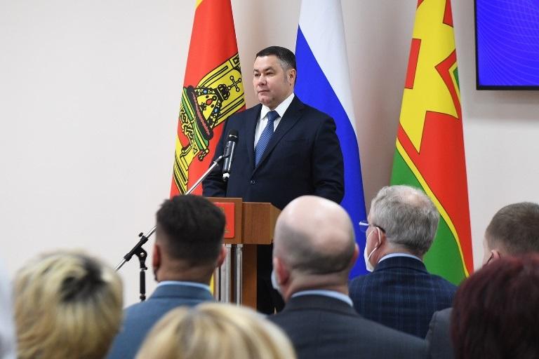 Губернатор Игорь Руденя обсудил развитие Лихославльского района с местными жителями