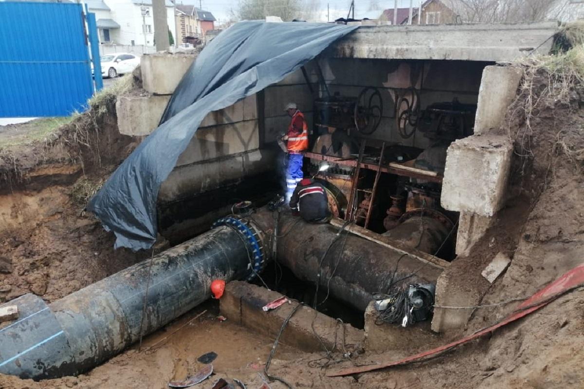 В Твери идет подготовка к пуску первого модернизированного участка водовода