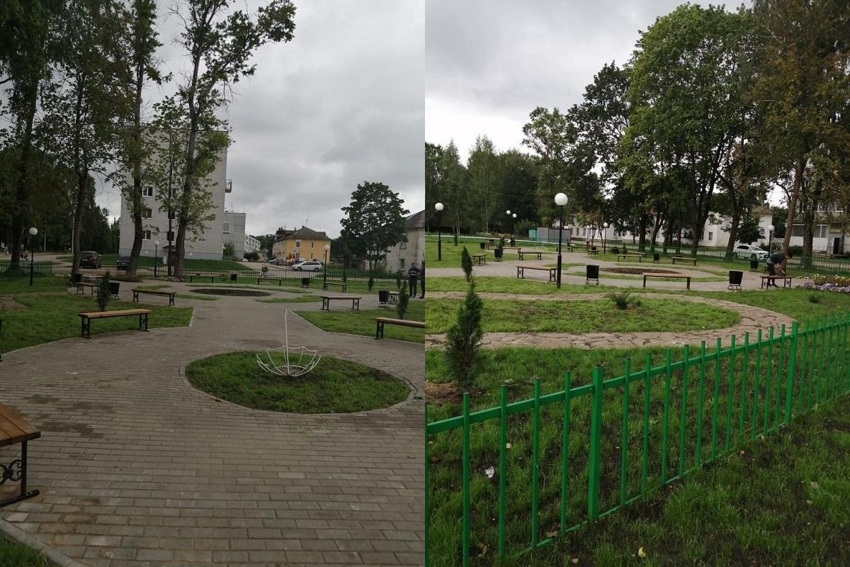 В Тверской области завершено благоустройство 37 объектов