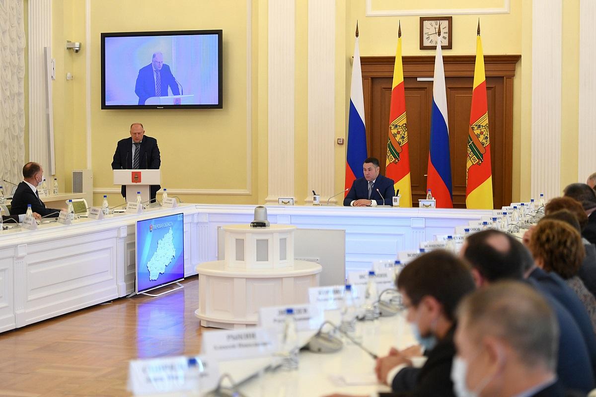Губернатор Игорь Руденя поблагодарил за работу депутатов ЗС шестого созыва