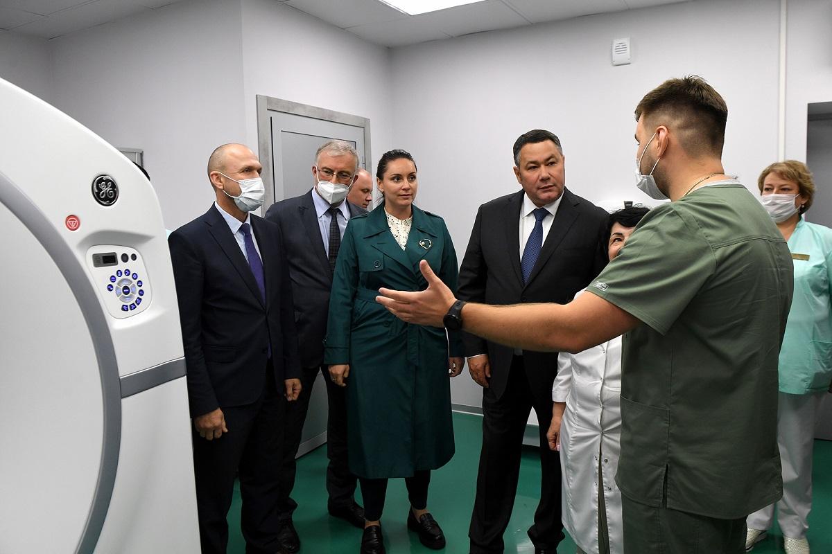 Около 500 пациентов принял Центр амбулаторной онкологической помощи в Твери
