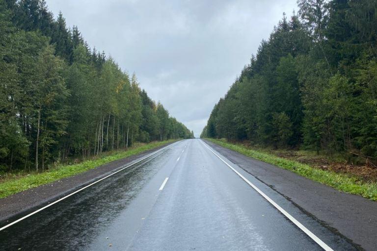 В Тверской области после обращения местных жителей Игорю Рудене проведен ремонт автодороги Рамешки-Максатиха