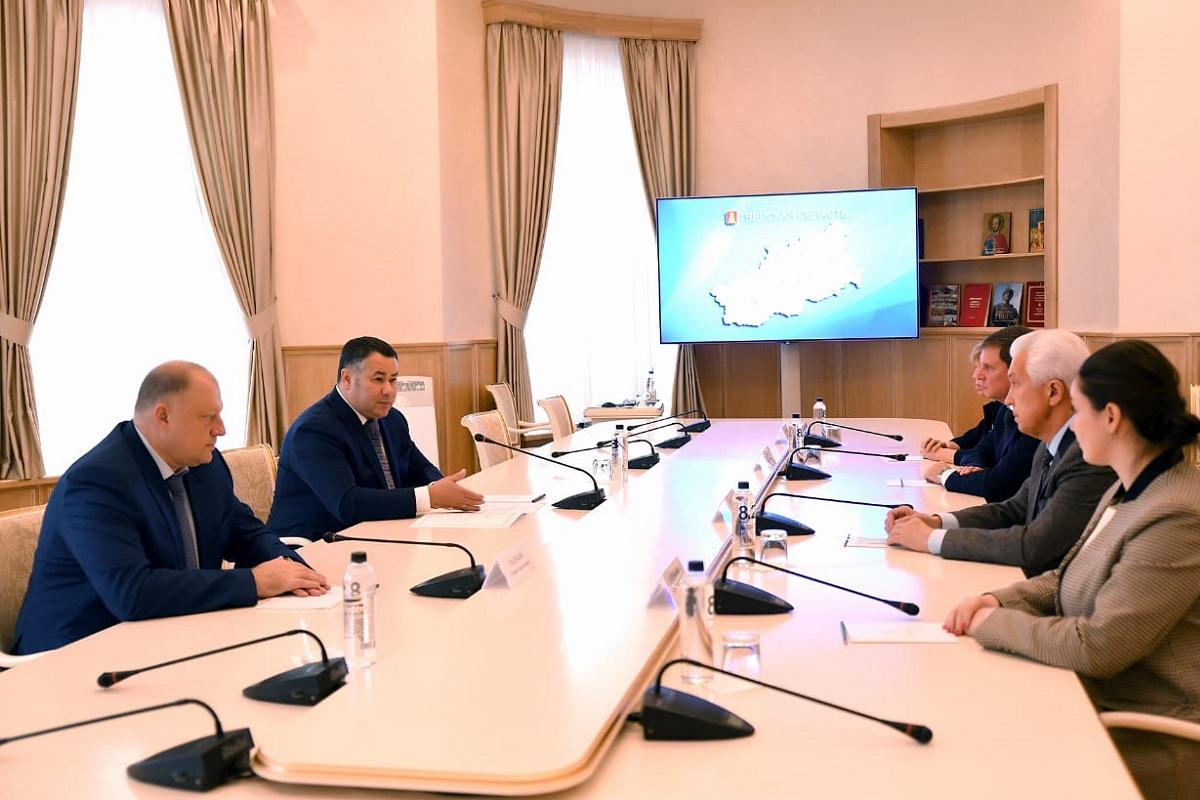 Губернатор Игорь Руденя встретился с сенаторами и новыми депутатами Госдумы от Тверской области